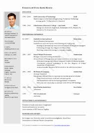 Us Resume Format International Standards Resume format Luxury American Resume 18