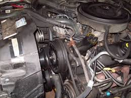 how to replace a power steering pump 10 steps pictures 100 0717 picture of power steering pump front view jpg
