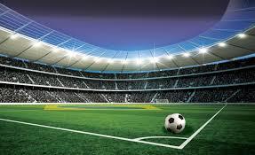 Bolcom Fotobehang Stadion Voetbal Corner 368 X 254 Cm
