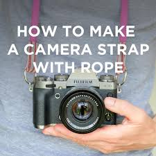 diy strap with climbing rope tutorial