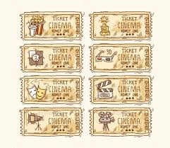 34 Movie Ticket Templates Psd Ai Word Free Premium