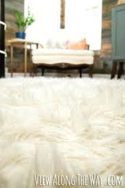 fake fur rug rug tutorial this is brilliant faux fur sheepskin rug ikea