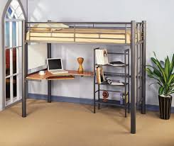 loft beds charleston storage loft bed with desk metal contemporary twin w bookcase beds white