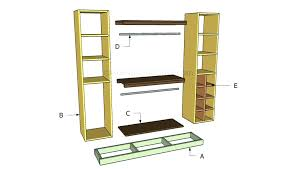 diy closet organizer. Diy Closet System Plans Incredible Best Organization Images On Home For Building A Organizer