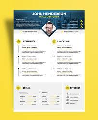 Ui Designer Resume Free Creative Resume Cv Design Template For Ui Ux Designer Psd 14