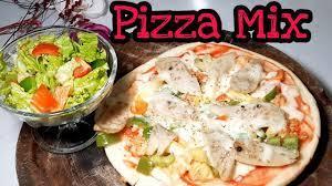 Cách Làm Bánh Pizza không cần lò nướng - siêu ngon hấp dẫn dễ làm - Pizza  nhanh