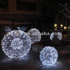 large led ball for outdoor light decorations