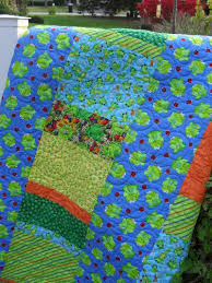 37 best Handmade Quilts for Sale images on Pinterest | Boy quilts ... & This handmade quilt is looking for a home on your child's bed. Frog motif  with Adamdwight.com