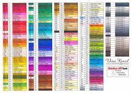 Dina Kowal Creative Touch Marker Color Charts