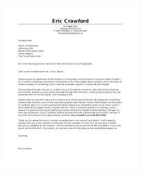 Substitute Teaching Cover Letter Cover Letter Template For Resume