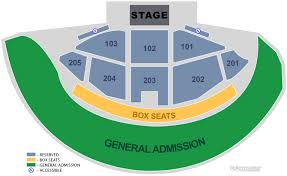 Gorge Amphitheater Seating Chart Gorge Amphitheatre Quincy Wa Seating Chart View