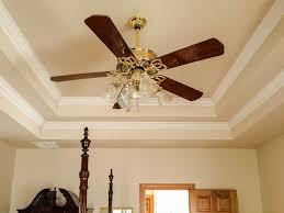 ceiling fan tray ceiling crown molding light fixture