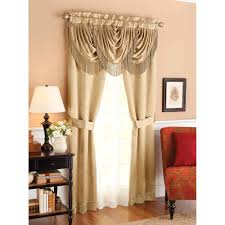 better homes and gardens valances. Unique Gardens Interesting Better Homes And Gardens Valances At Walmart Within  Triple Waterfall Window Set Intended C