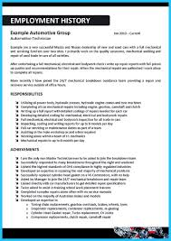 Mechanic Resume Delivering Your Credentials Effectively On Auto Mechanic Resume 63
