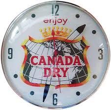 pam clock enjoy canada dry what