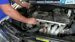 how to install replace engine coolant thermostat volvo v how to install replace engine coolant thermostat 2001 07 volvo v70