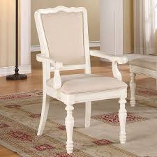 placid cove upholstered dining arm chairs set of 2