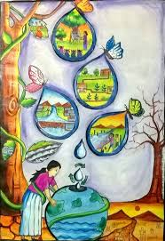 themes for painting of conservation of water resources google శ ధన