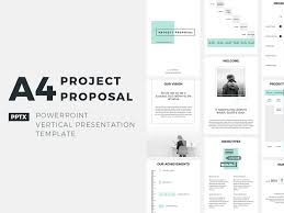 Project Proposal Presentation A4 Project Proposal Presentation Template By Jetz Templates