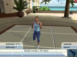 yourself fitness cardio workout um level 15 min part 2