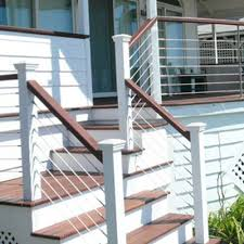 steel cable railing. Our Inventory Of Cable Railing Components Includes: Steel