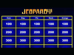 Jeopardy Powerpoint Template New Make A Jeopardy Game Powerpoint Template Kennyyoung