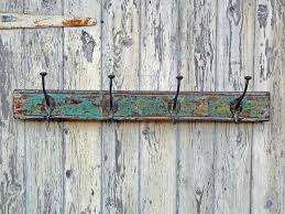 Vintage Coat Hook Rack Turquoise Vintage Coat Hook Rack Turquoise Pinterest Hook rack 60