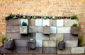 Small Picture Exciting Cinder Block Planter Wall 17 In Best Design Ideas With