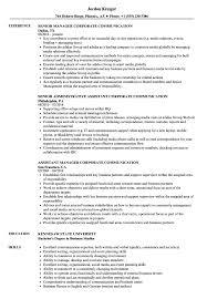 Corporate Communication Resume Samples Velvet Jobs