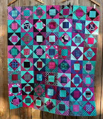 331 best Traditional Quilt Ideas images on Pinterest | Patchwork ... & modern scrap square in square quilt - Wombat Quilts. She has fresh new color  combinations all over her site. Adamdwight.com