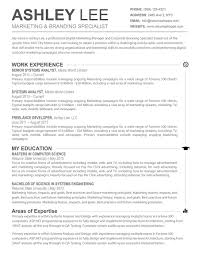 Resume Templates For Mac Pages