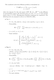 convection diffusion equation solution 2d tessshlo