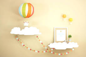hot air balloon decorations diy hot air balloon by of project nursery says this party has