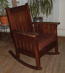 antique mission style chairs