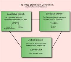 Three Branches Of Government Chart Lessons Tes Teach
