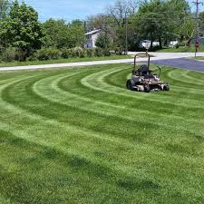 Mowing Patterns Fascinating Lawn Care Tip of the Month Mowing Patterns Grasshopper Mower