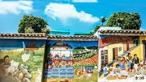 Comalapa - Lugares con impresionantes murales hechos por artistas  guatemaltecos