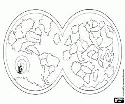 Maps Coloring Pages Printable Games