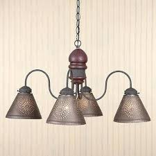 primitive lighting fixtures. Tin Lighting Fixtures 8 Point Colored Glass And Primitive . I