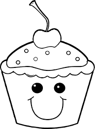 Small Picture Cupcake Coloring Pages Wecoloringpage