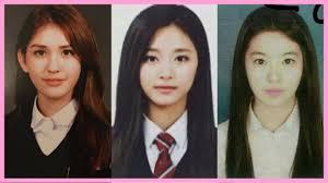 Photos Yearbook Girls Kpop Graduation - School Id Youtube At