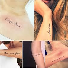 татуировки для девушек на спине надписи с переводом примеры