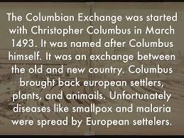 positive and negative effects of the columbian exchange essay positive and negative effects of the columbian exchange essay