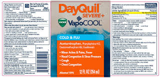 Dayquil Severe Plus Vicks Vapocool Solution The Procter