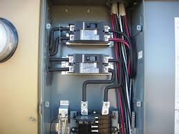 200 amp service? internachi inspection forum Overhead Service Meter Box Wiring Diagram 200 amp service 100_4165 jpg Residential Electrical Meter Wiring Diagram