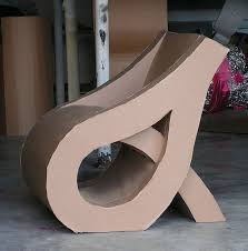 cardboard chair design with legs. Cardboard Chair - Love The Curved Shape. Design With Legs