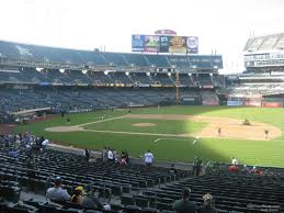 Ringcentral Coliseum Section 111 Oakland Athletics