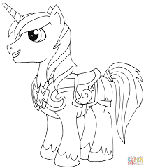 Free My Little Pony Coloring Pages Saglikme