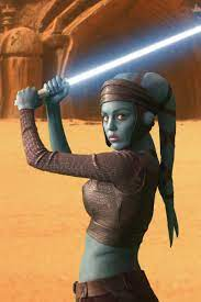 17. Amy Allen as Aayla Secura, Mya Nalle, Yma Nalle, and Lela Mayn in Attack of the Clones and Revenge of the Sith.