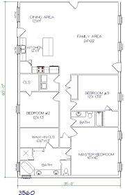 3 bed 2 bath 35 x60 2100 sq ft